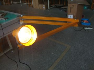 "Tugas Berat 60 ""Lampu LED Loading Dock, Flex Arm LED Dock Light Fixtures"